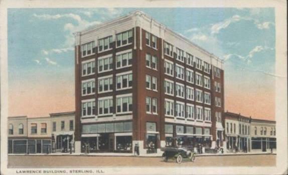 Lawrence Building, Bang Sterling nước Mỹ