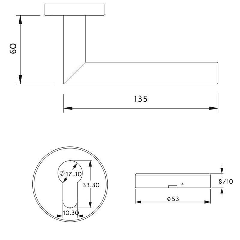 thông số kỹ thuật khóa phân thể cửa phòng lawrence lh002