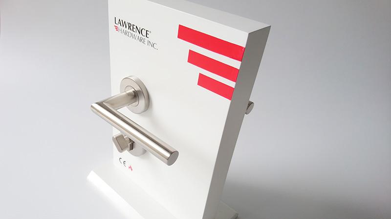 Thiết kế tay nắm gạt phân thể cửa phòng LH001 Lawrence hình chữ L