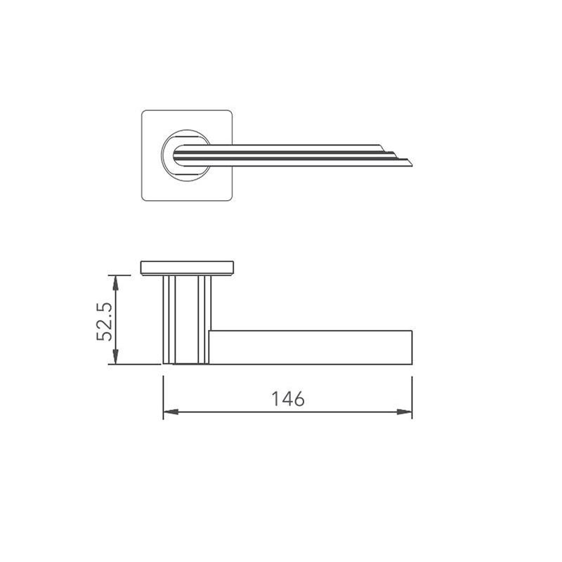 Thông số kỹ thuật tay nắm khóa phân thể LH159 Lawrence