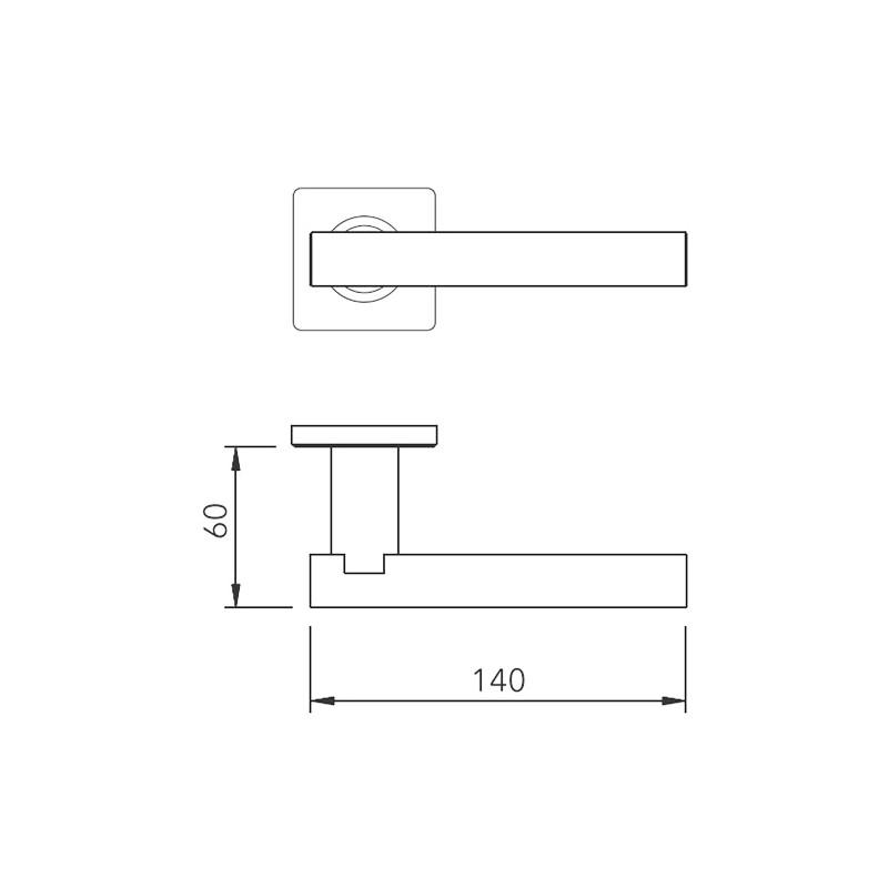 Thông số kỹ thuật tay nắm khóa phân thể LH165 Lawrence