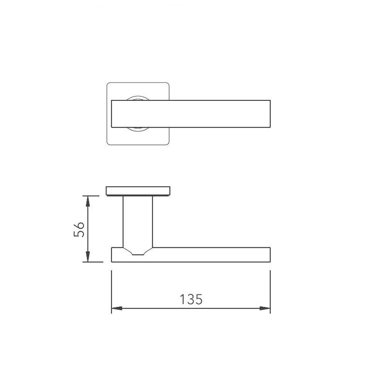 Thông số kỹ thuật tay nắm khóa phân thể LH171 Lawrence