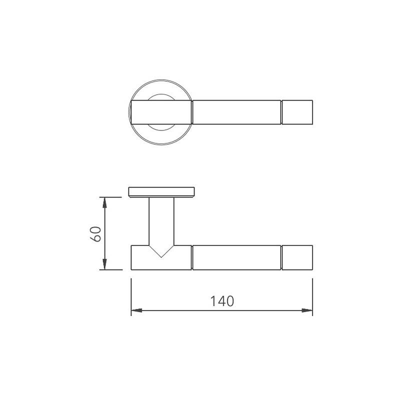 Thông số kỹ thuật tay nắm khóa phân thể LH178 Lawrence