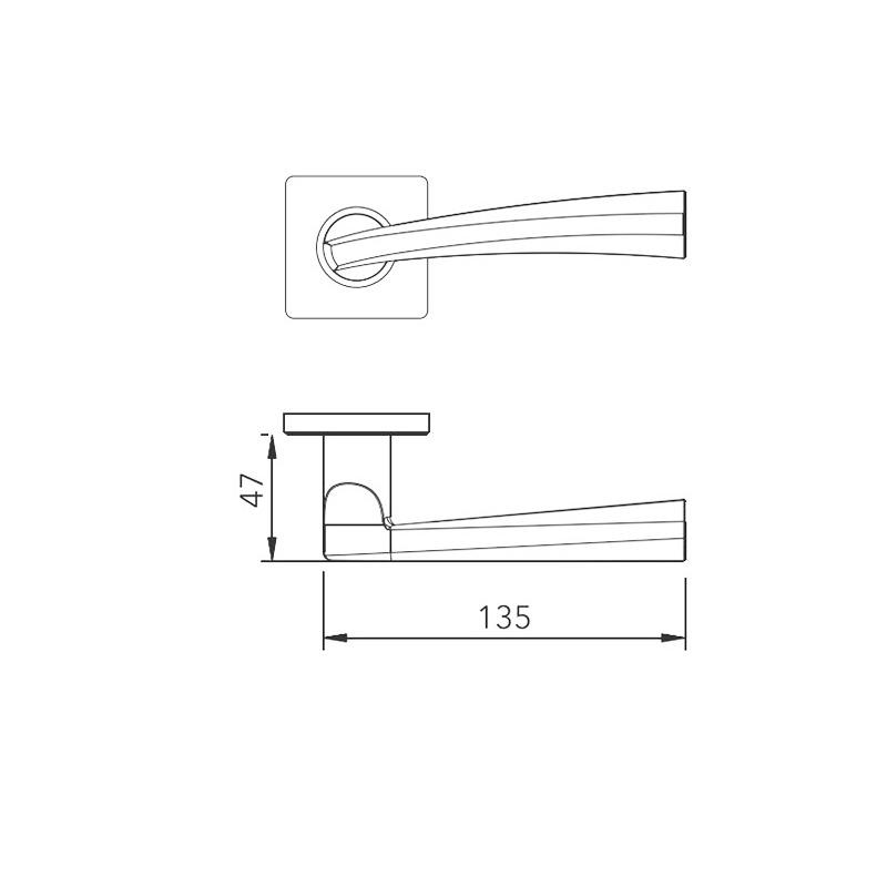 Thông số kỹ thuật tay nắm khóa phân thể LH181 Lawrence