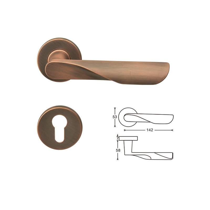thông số khóa tay gạt phân thể màu đồng lhrc3202 lawrence